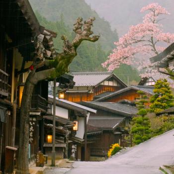 Jaapani reis. Matk Kiso orus. Nakasendo