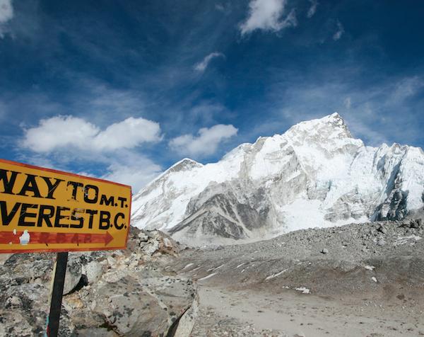 Everesti baaslaager. Sandberg Reisid matkareis Nepal