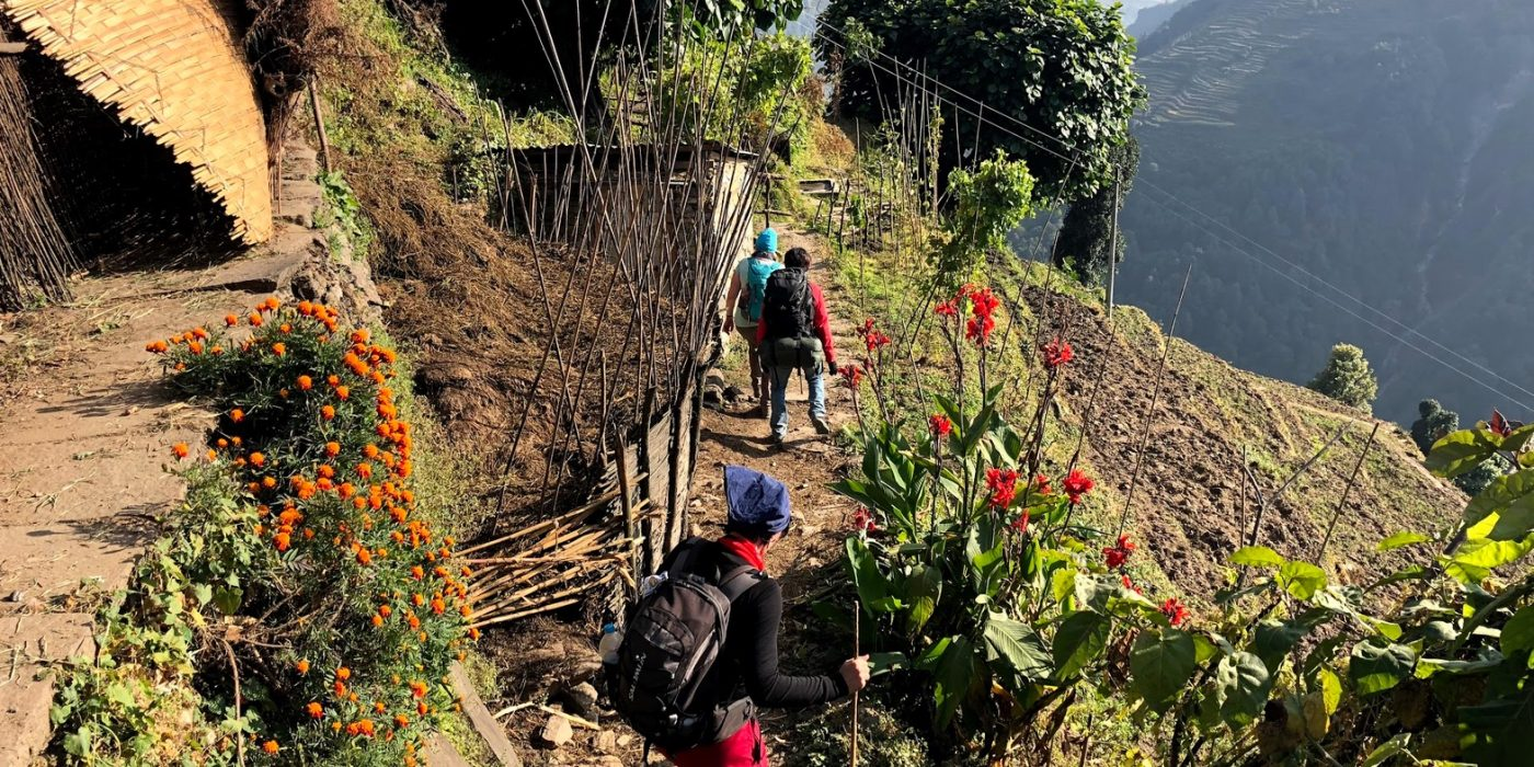 Poon Hill trek Nepalis