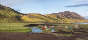 Islandi matkareis. Sandberg Reisid. Laagriplats. Alftavatn