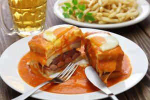 Portugali söök. Sandberg reisid